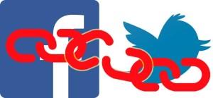 Unlink FaceBook Twitter